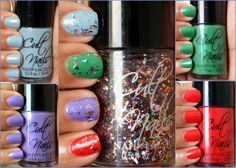 Cult Nails Fairytale Collection Swatches