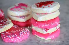 A Bountiful Kitchen: Cutler's Famous Glazed Sugar Cookies (step by step)