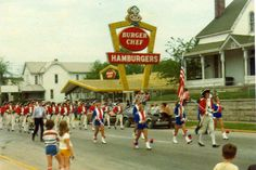 Ok, so I was around quite yet in 1978 but my parents still referred to this establishment as Burger Chef long after it became Pleasers