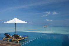 swimming pools, heaven, the ocean, infin pool, islands, rangali island, deck patio, paradise, place