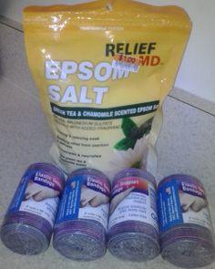 DIY Slimming Body Wrap 4 - Epsom Salt Edition