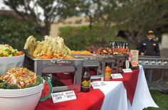 Cajun Buffet Setup