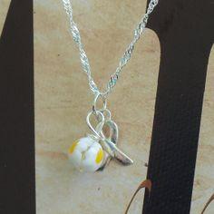 Spina Bifida Awareness Necklace  Sterling by ShadesofAwareness, $29.00
