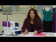 Pintucking Using a Serger with Angela Wolf