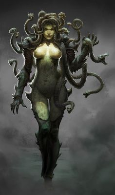 medusa by ~AlexPascenko....beautifulest work!