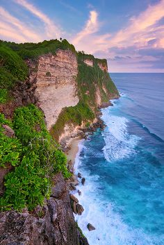 Stepping out of the trees. East Cliff, Uluwatu.   Bali, Indonesia
