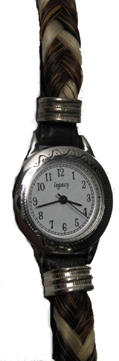 Braided Horse Hair Watch   Horses to Watch   Watch Horse   Horse Watch   Equestrian Jewelry Product Description  Unique braided horse hair watch.  Equestrian jewelry at its best.  Horse Watch with the finest horse hair of horse to watch. $75.00