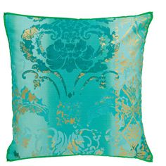 Designers Guild Pillow - https://www.designersguild.com/uk-shop-online/shop-home/home-accessories/cushions/view-all-cushions/kashgar-jade/