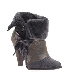 Take a look at this Smokey Gray Most Wanted Boot by Poetic Licence on #zulily today!