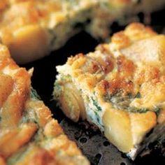 Broccolini and Potato Frittata Recipe