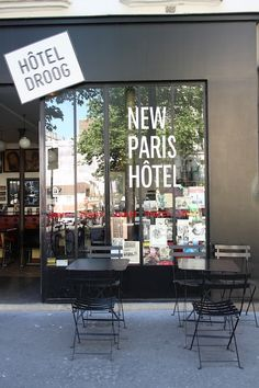 Hotel Droog | Merci Paris
