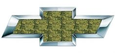 Alligator Chevy Bowtie Emblem Decal