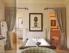 Drapery That Divides a Room