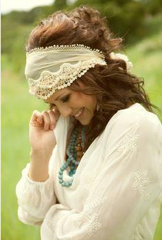 gypsy boho headband boho chic, head scarfs, fashion, head wraps, style, scarves, headbands, hair, bohemian
