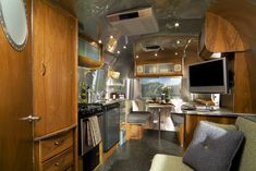 awesome interior. great theme Airstream