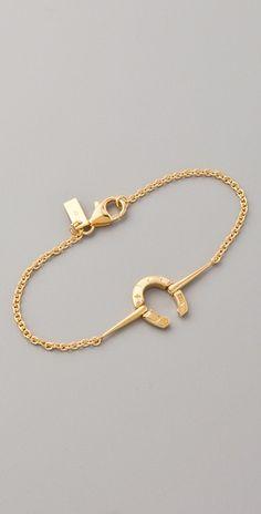 Horseshoe ID Bracelet