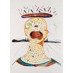 Cyclopean Make-Up, Salvador Dali, 1976, Dallas Museum of Art