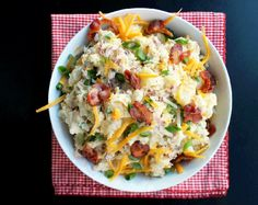 Loaded Baked Potato Salad - Creole Contessa