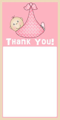 baby shower thank you cards on pinterest messages and baby