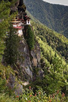 Bhutan- Tigers Nest - Taktshang Monestery