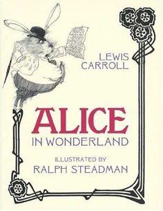 Alice in Wonderland + Ralph Steadman = perfect fit.