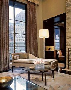 A Manhattan penthouse by designer Charles Allem