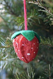 ornament idea, tree, crafti stuff, craft idea, holiday idea, christma craft, christma ornament, christmas ornaments, kid