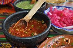 Salsa comida mexicana, foods, food blogs, mexican food, salsa roja, salsa buena, habanero salsa, tres salsa