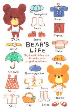 bear's life #ilustration #ilustracion