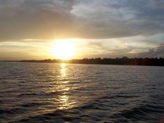 atardecer en Guayo. Delta Amacuro.