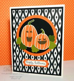 Halloween Card with Fall Fest Bundle  Stampin' Up!