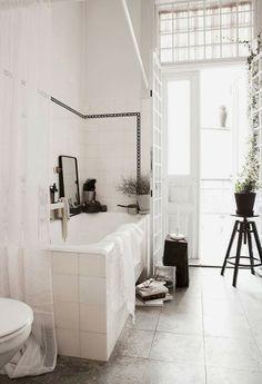 apetyczne wnętrze: eklektyczna łazienka // eclectic bathroom