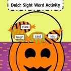 TRICK-OR-TREAT is a sight word activity played very similar to games like BAM! or WHAMMY!  Students take turns reading or spelling sight words that...