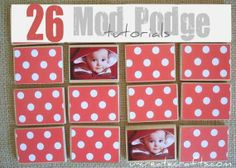 26 Mod Podge Tutorials