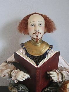 Shakespeare doll - I love this, I want one.