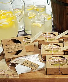 Mini Pie Packaging Kits