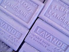 French milled lavender soap