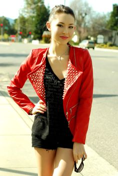 Red. Style inspiration