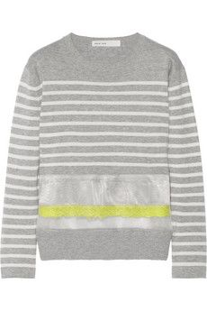 Sacai sweater, $77  (more from the Net-a-Porter clearance sale -- http://chicityfashion.com/net-a-porter-sale-clearance/)
