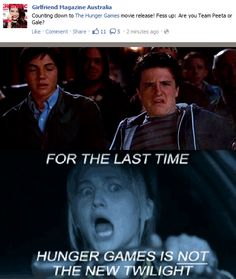 The Hunger Games is NOT the new Twilight!