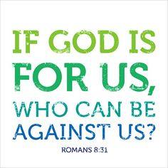 Romans 8:31 - Faithfully Worded Wall Calendar 2014
