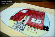 Point of View Eyeballs! Students draw a picture from a specific character's point of view and how they would see a particular scene. Also, see how to integrate different social studies concepts with the literacy idea! Young Teacher Love Blog