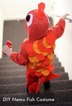 DIY Nemo Fish Costume for Your Toddler