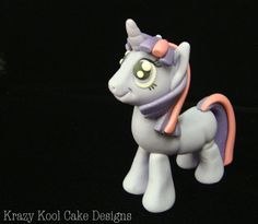 Twilight Sparkle Inspired My Little Pony Cake Topper -She has all the other ponies, too!
