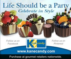 Kane Candy Chocolate Dessert Cups now available nationwide at quality US retailers! Made In USA  www.KaneCandy.com
