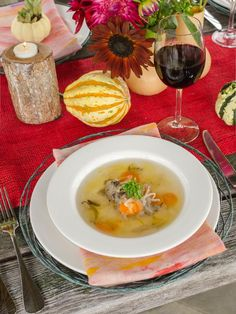 Full of fall flavors, this farm-to-table vegetable soup is as healthy as it is delicious.