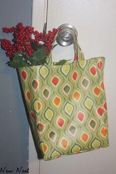 Reusable Laminate Gift Bags Tutorial