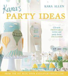 Kara's party ideas book!