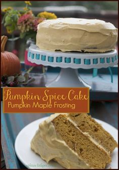 Best Pumpkin Cake I ever tasted. Pumpkin Spice Cake Recipe by Angela Roberts