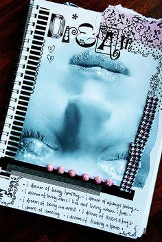 Art Journal #scrapbook #journal #notes #layout